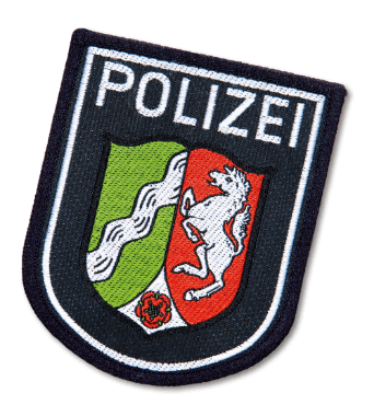 polizei-patch